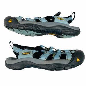 Keen Whisper Hiking Sandals in Blue